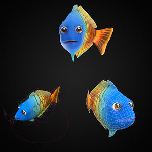 3D boeseman s rainbow fish toon