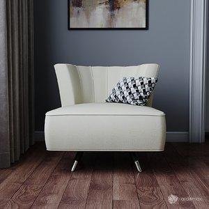 furniture armchair seat 3D model