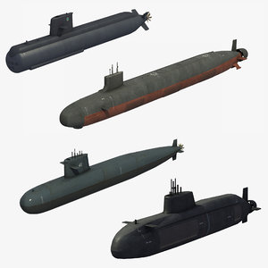 attack submarines model