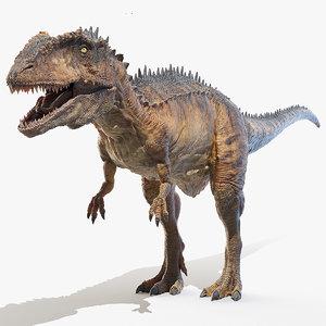 carcharodontosaurus carcharodon 3D model