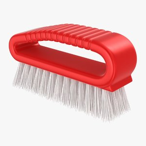 hand scrub brush 3D model