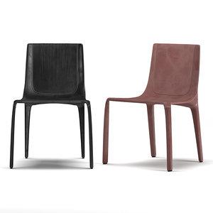 manta chair seat 3D