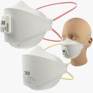masks 3m 3D