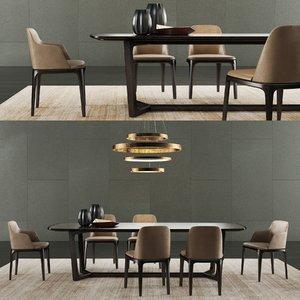poliform concorde table grace 3D model