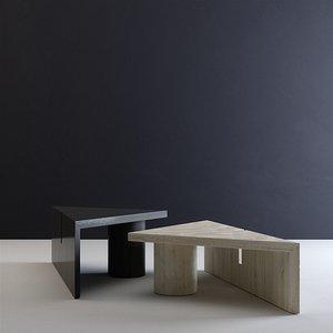 3D portal coffee tables