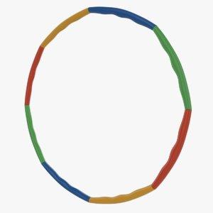 hula hoop sport toy 3D