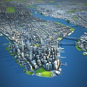 nyc city 3D model