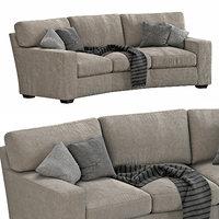 Arhaus Brentwood Square Wedge Sofa