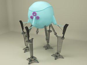 3D mini robot