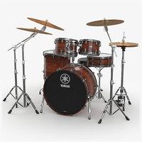 Drum Kit Yamaha Live Custom Oak