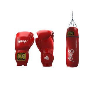 gloves bag model
