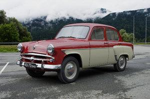 3D mzma moskvitch-407 1959