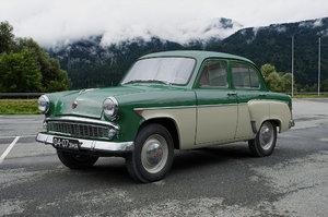 3D mzma moskvitch-407 1962