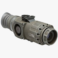 Thermal Weapon Scope Trijicon IR Patrol M300W Dirty