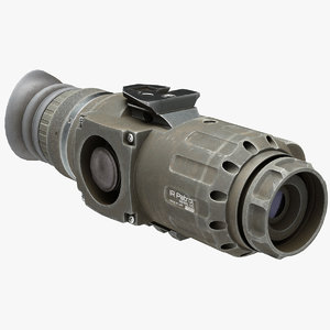 thermal weapon scope trijicon 3D