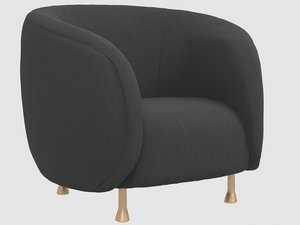 lucien chair kelly wearstler 3D