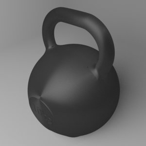 3D kettlebell 10 kg