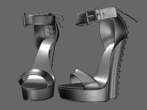 shoeshighheelboot 3D model