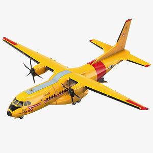 3D rcaf airbus c295 fwsar