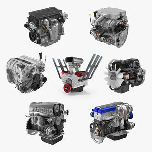 3D car engines 2
