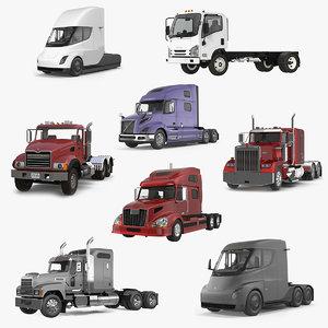 3D trucks 2 model