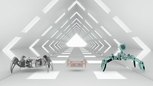spider bionic robot model