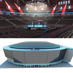3D stadium interior ufc