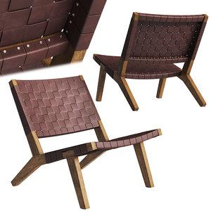 la espada 128 lounge chair 3D model