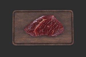 raw meat cutting board model