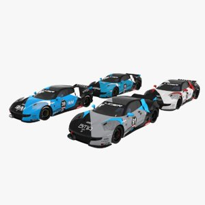 ligier js2 r team 3D model