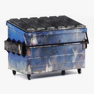dumpster ready games modeled 3d obj