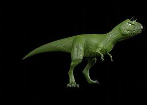3D model carnotaurus t