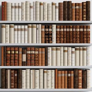 classic books 3D