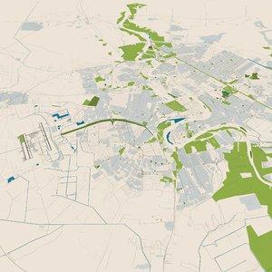 baghdad city iraq 3D model
