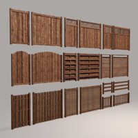 Wood Fence Collection