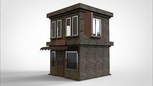 3D cafe build
