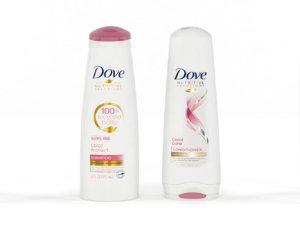 3D dove nutritive solutions shampoo