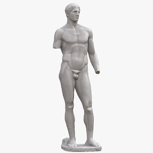 3D daochos agias monument
