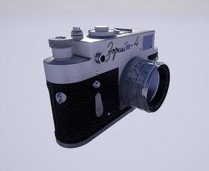 camera zorki 4 3D