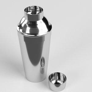 cobbler shaker 3D model