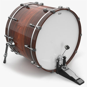 3D bass drum yamaha