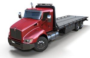t440 tow truck 3D