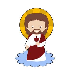3D jesus christ souvenir model