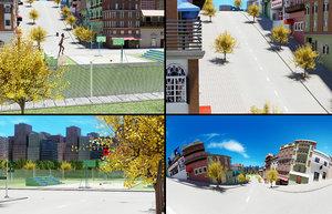 street city art 3D