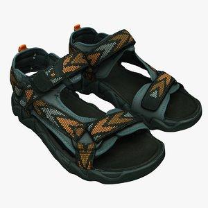 kids sandals 3D model