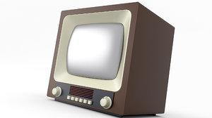 3D tv old retro model