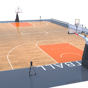 basket ball basketball 3D model