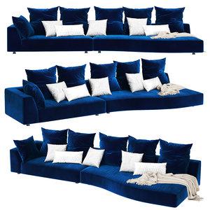 3D edra absolu sofa