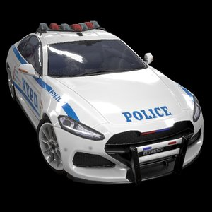 3D sport coupe nypd 2019 model
