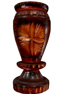 3D wood chalice model